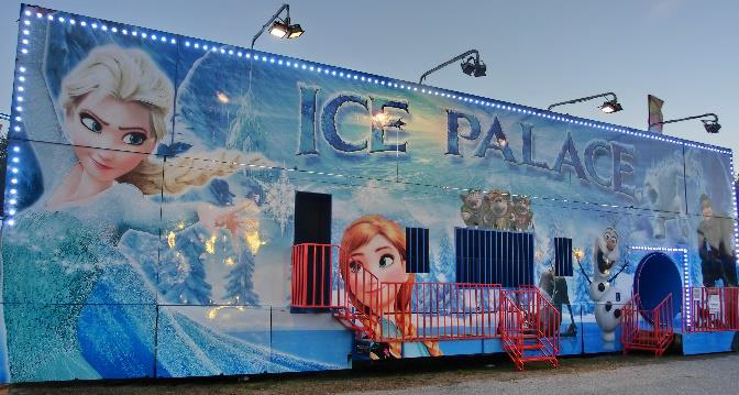 Ice Palace Fun House
